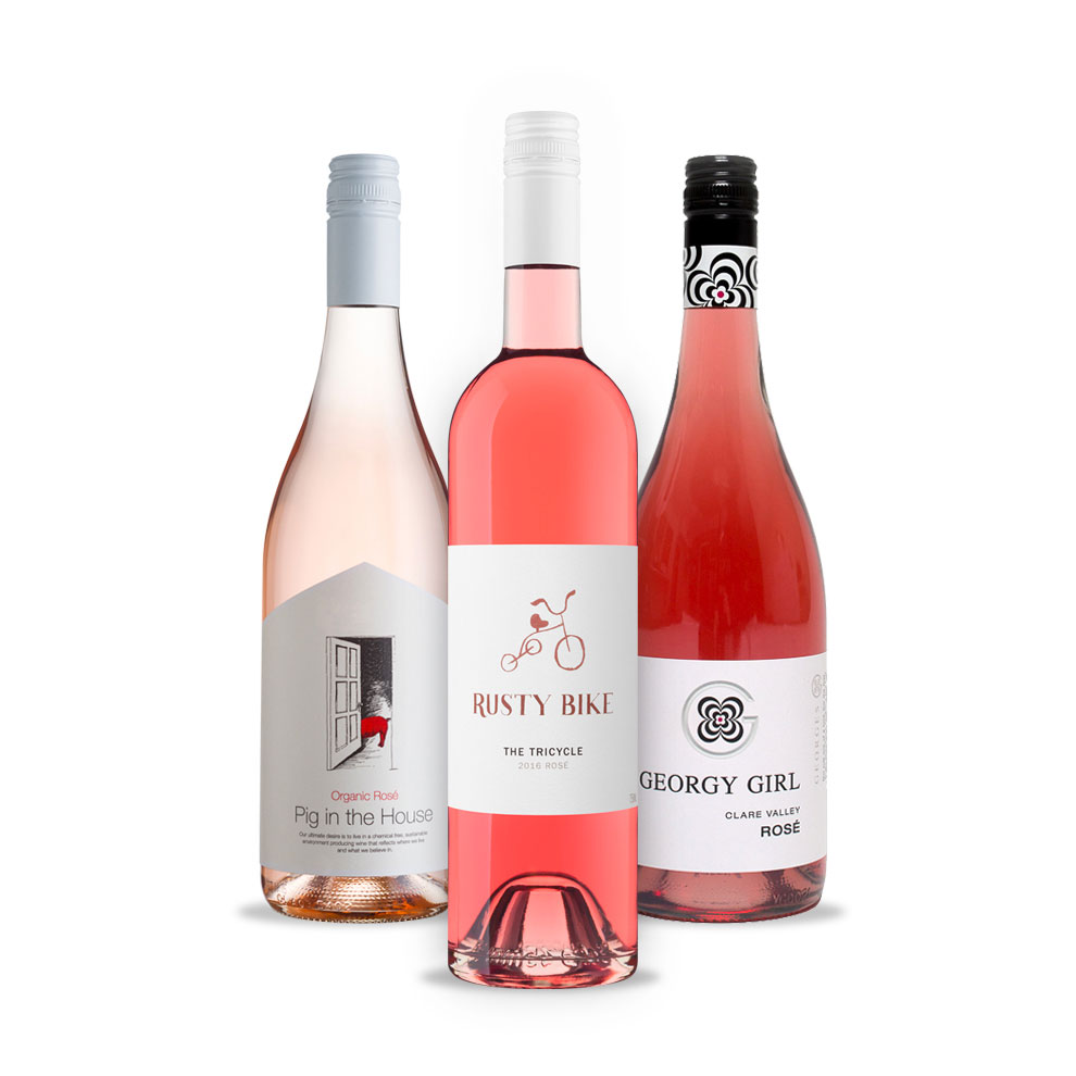 Bird and Barrel, 3-pack Rosé Wine Selection