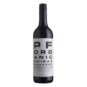Bird and Barrel, Eyechart Organic Shiraz