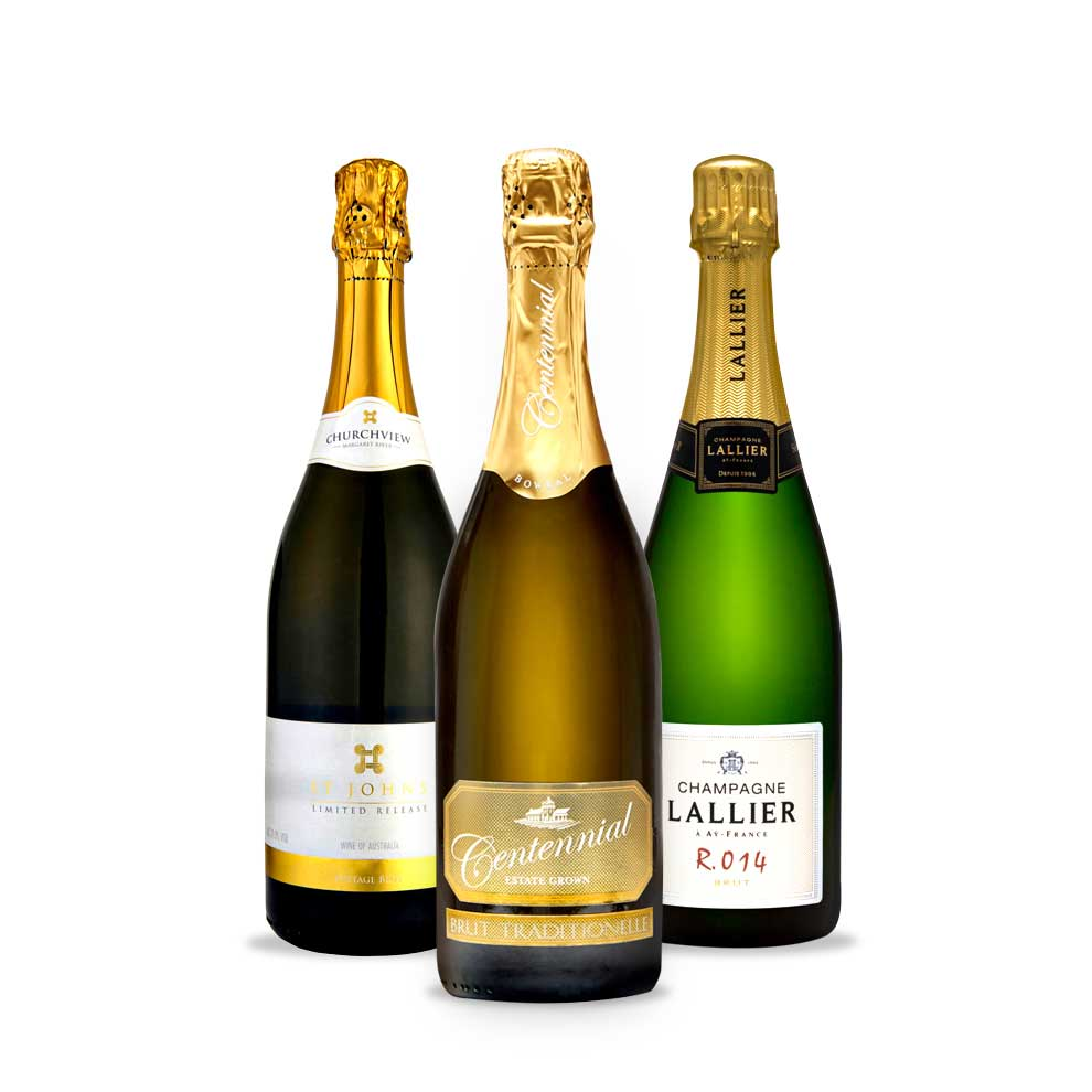 Bird and Barrel, 3 pack Sparkling Wine / Champagne