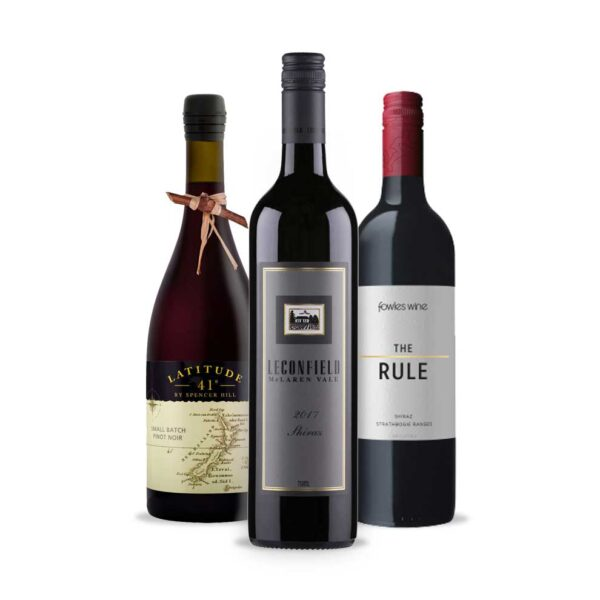 Wine Gifts, He Loves Big Reds, Bird and Barel