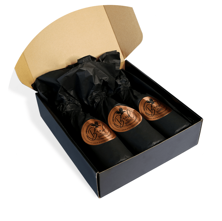 Wine Gifts, Bird and Barrel