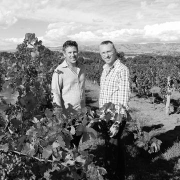 Purple Hands Winemakers Craig Stanborough and Mark Slade, Barossa