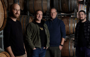 The wine-making team at Levantine Hill Estate, Yarra Valley