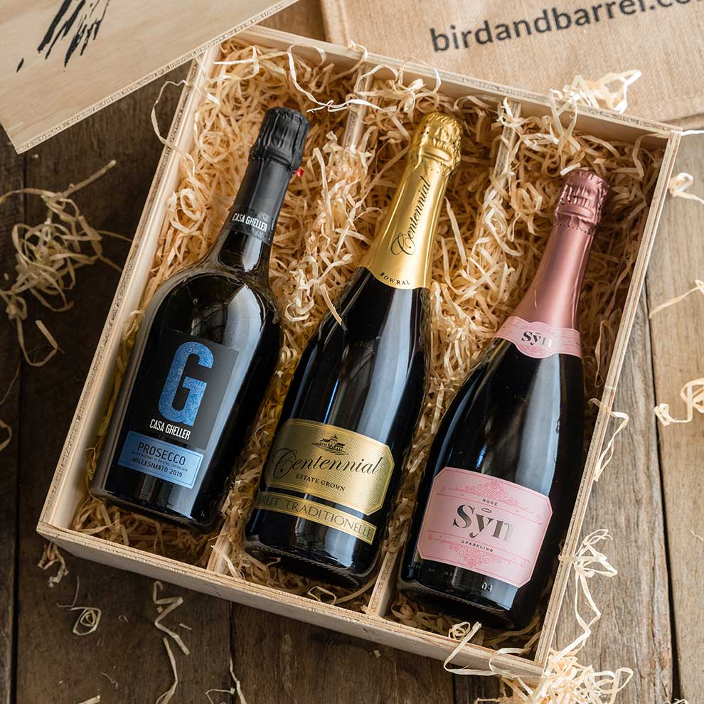 Bird and Barrel Sparkling Wine Gift Pack