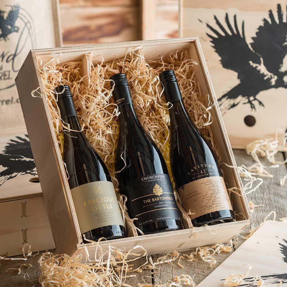 Bird and Barrel Chardonnay Wine Gift Pack