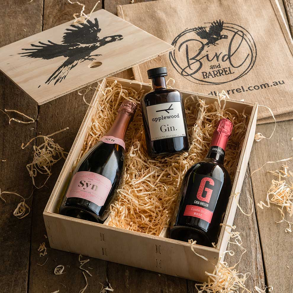 Bird and Barrel Gin & Wine Gift Pack
