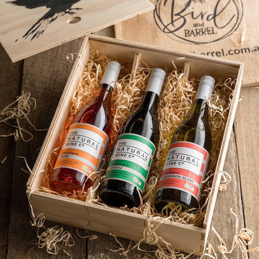 Bird and Barrel Organic Wine Gift Pack