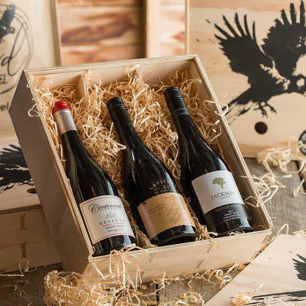 Bird and Barrel Pinot Noir Wine Gift Pack