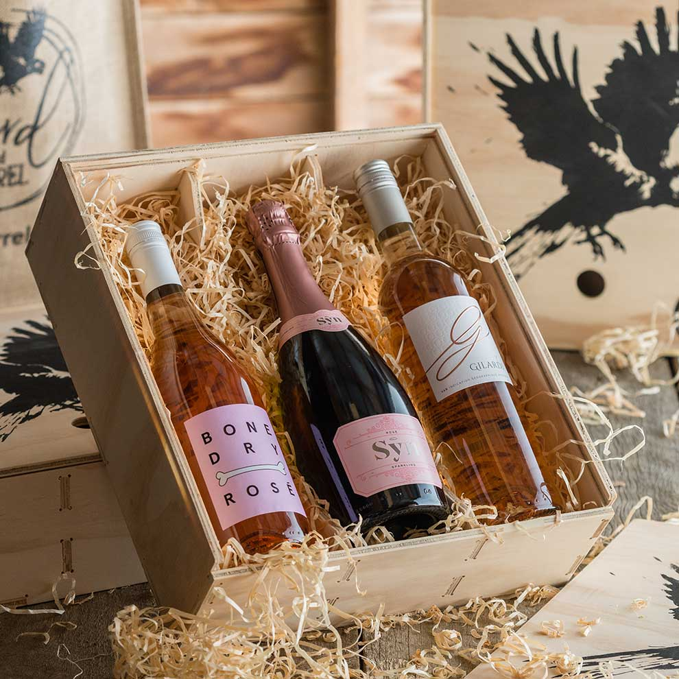 Bird and Barrel Rose Wine Gift Pack