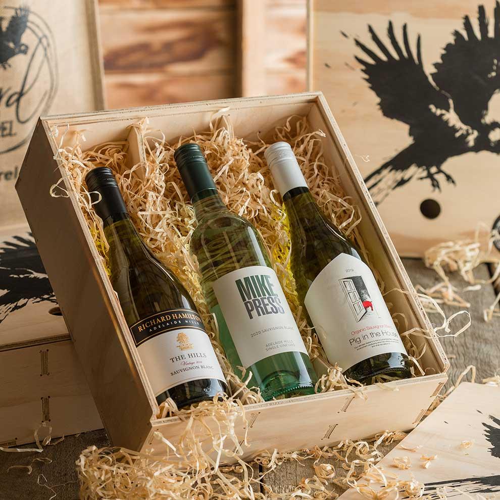 Bird and Barrel Sauvignon Blanc Wine Gift Pack